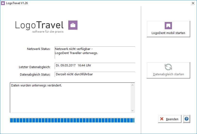 LogoTravel Mobile Datenbank für Ärzte